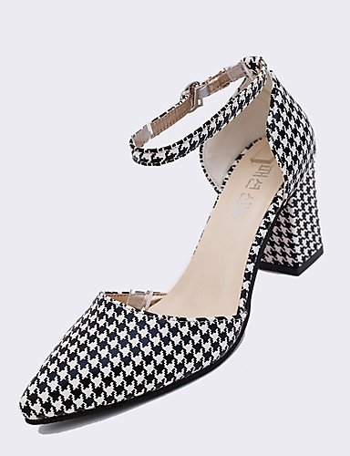 Heels Leather Women's Office Career 5 uk2 amp; Woven Multicolor amp; GGX Fashion 2 Sandals us4 5 PU cn33 39 Evening Dress black 4 eu34 Party 34 Heels fxdqpwqOP
