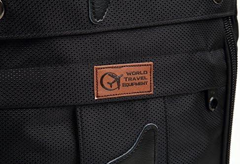 69c740322f5f World Travel Equipment 3WAYバックパック 四角いからとにかくたくさん入る大容量 男女兼用/