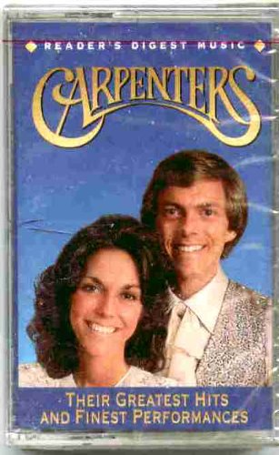 CARPENTERS - Carpenters  Their Greatest Hits And Finest Performances Tape 3 - Zortam Music