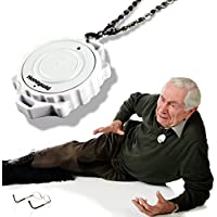 Emergency Fall / Motion Detection Notification Device Necklace for Seniors, Disable, Patient and Kids Life Saving Emergency SMS and Call Alert