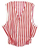 Rubie's Men X-Lg (Up to 46) Costume Red and White Striped Vest Red/White X-Large