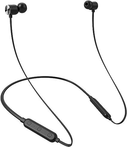 Écouteurs Bluetooth Sans fil Tour de cou Spécial Sport pour