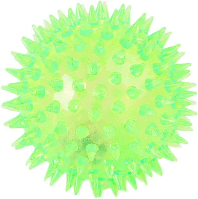 7.5cm EisEyen Sqiushy Balls Palline a LED Anti-Stress Ball Palla di Gomma Sensoriale