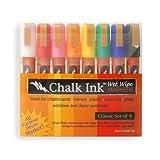 Chalk Ink 6mm Wet Wipe Classic Set Of 8