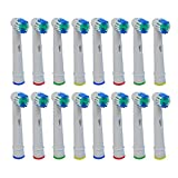 Toothbrush Replacement Heads Refill Compatible with Oral-B Electric Toothbrush Soft Bristles Pro 500 1000 1500 3000 5000 6000 7000 7500 8000