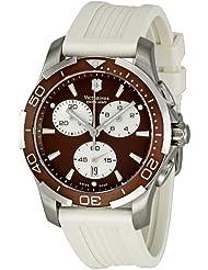 Victorinox Swiss Army Womens 241503 Brown Dial Chronograph Watch
