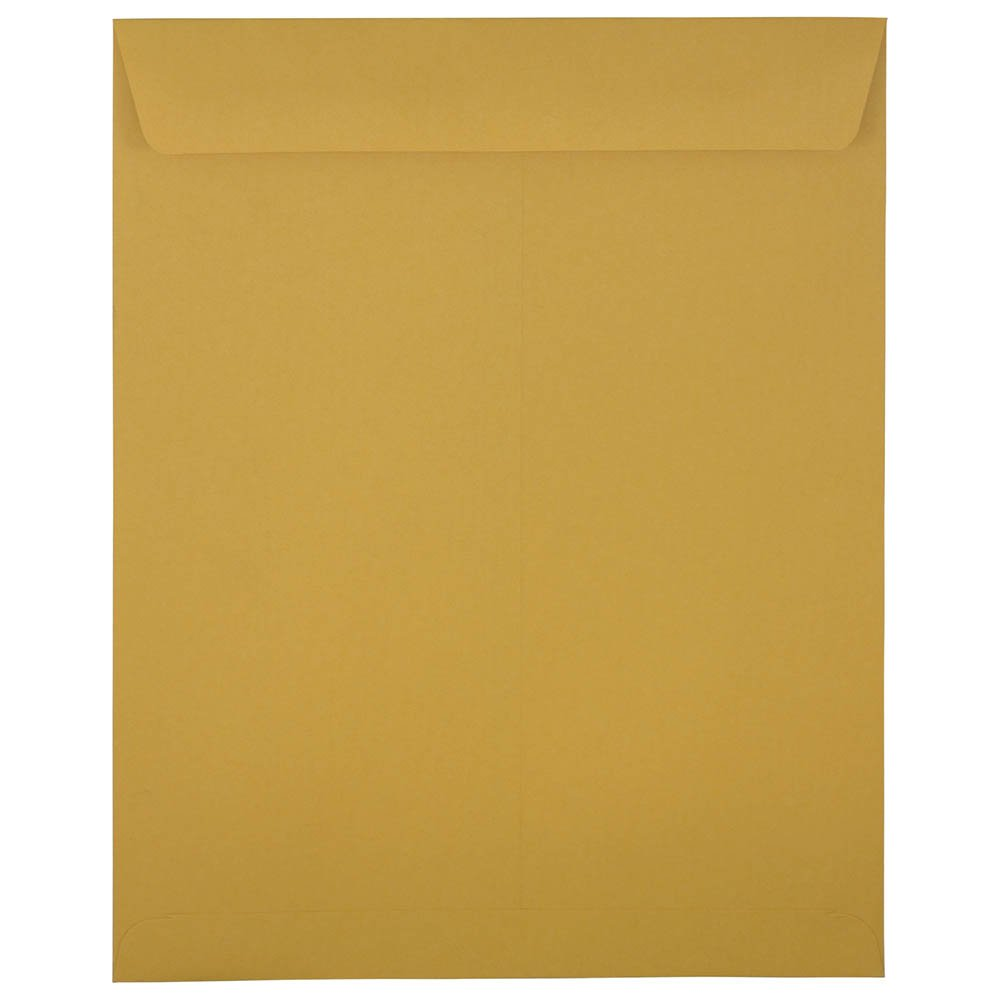 JAM Paper Open End Envelopes - 292 x 368mm (11 1/2 x 14 1/2) - Brown Kraft - 100/pack JAM Paper & Envelope 313011452