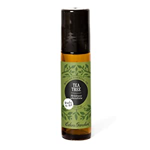 Edens Garden Tea Tree Essential Oil, 100% Pure Therapeutic Grade (Pre-Diluted & Ready To Use- Allergies & Inflammation), 10 ml Roll-On