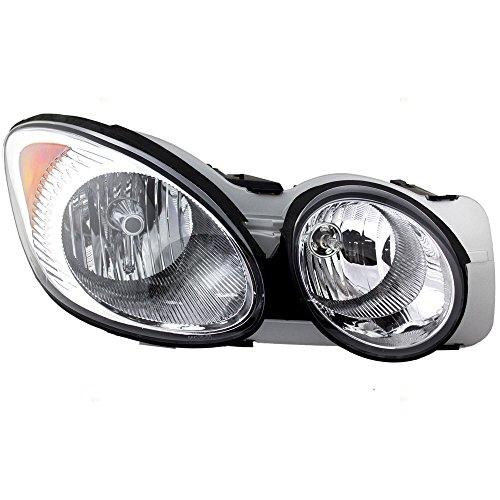 Buick Headlamp (Passengers Headlight Headlamp Replacement for Buick 25942067)