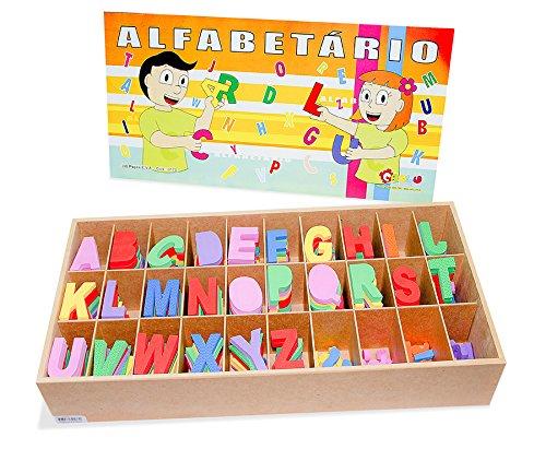 Alfabetário Eva Carlu Brinquedos