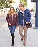 Global Heavyweight Sherpa Lined Zip Up Hoodie for