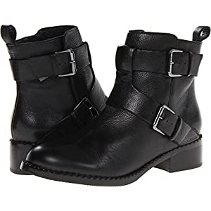 Gentle Souls Women's Best Of Motorcycle Boot, black, 8.5 M US