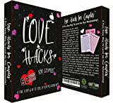 Couples Game Cards with Weekly Action Steps - Love Hacks for Couples - Wedding, Anniversary, Valentines, Birthday Gift