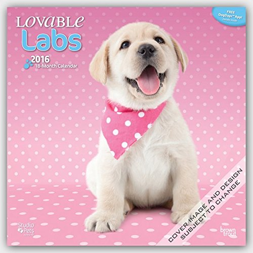 By Myrna - Lovable Labs 2016 Square 12x12 (Multilingual - Labs Lovable