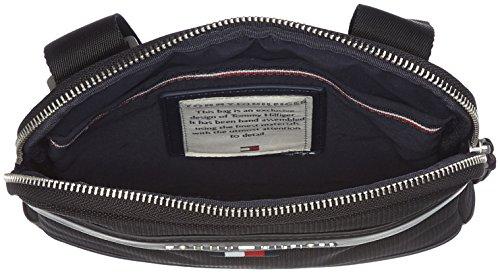 Mini 2x22x20 bolsos Hilfiger y T Black Tommy cm de Shoppers x H B Crossover Hombre Negro Tailored hombro ExqxwS7