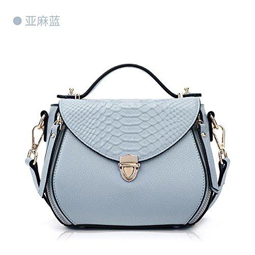 Ljiang Frau Bär Ranzen Mit Umhängetasche Handtasche Einfach Sommer Stimmen Überein.,Lotus - Stärke
