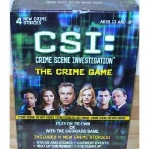 CSI: Crime Scene Investigation - The Crime Game (4 New Crime Stories: Sticks and Stones; Current Events; Heat of the Moment; The Clean Up)