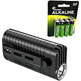 Nitecore MT22A 260 Lumens Flashlight -CREE XP-G2 S3 LED w/8x Free Eco-Sensa AA Batteries