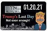 Trump's Last Day 01.20.21 Countdown Clock
