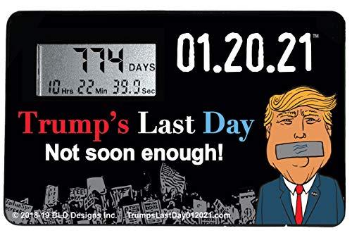Trump's Last Day Countdown Clock (1 Clock)