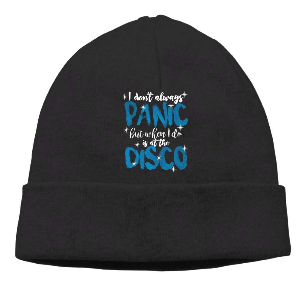 I Dont Always Panic But When I Do Its at The Disco Beanie Cap Unisex