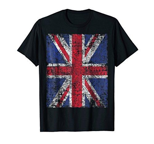PUNK ROCKER UK FLAG T-shirt