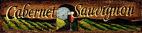 Cabernet by Red Horse Signs Art Print, 60 x 14 inches