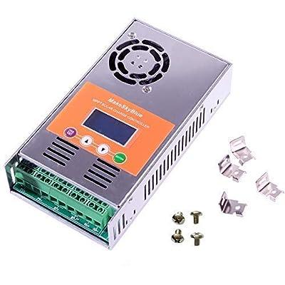 MakeSkyBlue 30A 40A 50A 60A MPPT Solar Charge Controller Regulator for 12V 24V 36V 48V Battery System V117