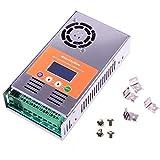 MakeSkyBlue MPPT Solar Charge Controller 60A Regulator LCD Display for 12V 24V 36V 48V Acid Gel Sealed Flooded Lithium Battery System Maximum PV 2800W