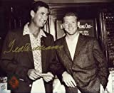Mickey Mantle/Ted Williams Signed Autograph Green Diamond Sports 8x10 Photo (Limited Edition of 1,000)