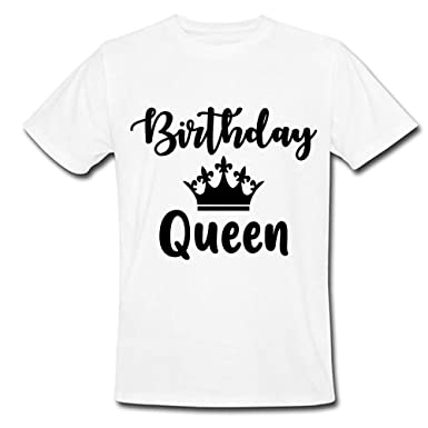 39952925c Sprinklecart Ideal Birthday Queen Printed Birthday T Shirt | Personalized  Birthday T Shirt for Girls (