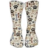Dog Paw Girls Mens Dress Crew Socks Excellent Travelers Softball Socks