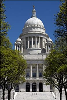 Book Rhode Island State House Journal: 150 page lined notebook/diary