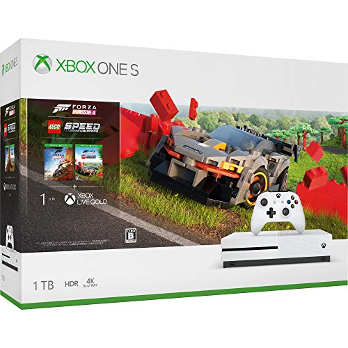 XboxOne S本体 1TB (Forza Horizon 4/Forza Horizon 4 LEGO Speed Champions 同梱版)の商品画像