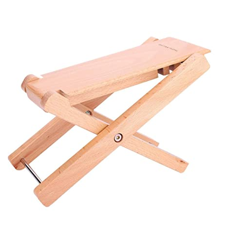 Peachy Amazon Com Wood Guitar Foot Stool Folding Adjustable Ocoug Best Dining Table And Chair Ideas Images Ocougorg