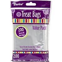 Darice Clear Value Pack, 3 x 4.75 pulgadas, 200 piezas de bolsas de tratamiento de 3 por 4.75 pulgadas transparentes