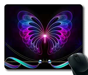 Abstract Butterfly Masterpiece Limited Design Oblong Mouse Pad by Cases & Mousepads by icecream design
