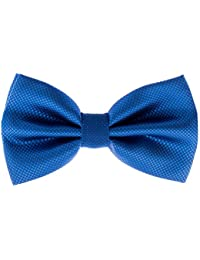 Pre-Tied Formal Tuxedo Bowtie - Adjustable Length - Huge Variety Colors Available