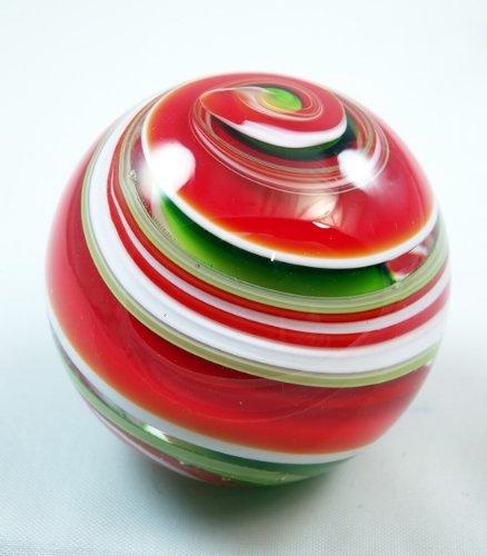 Tripact Inc M Design Art Handwerk Rot und Grün Streifen Weihnachten Thema Briefbeschwerer pw-651 [Küche] B0046DMYME | Kaufen Sie online