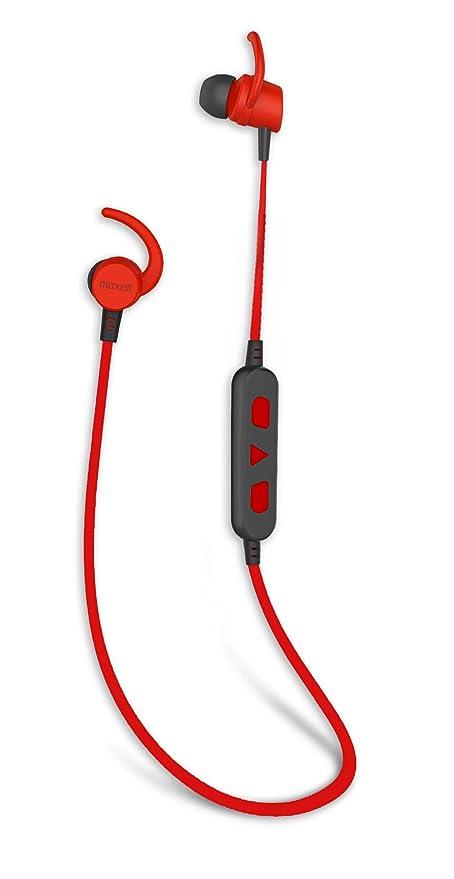 Maxell Auriculares Bluetooth 4.1 In-Ear Sonido Estéreo Cascos Deportivos Inalámbricos con Micrófono, Máxima