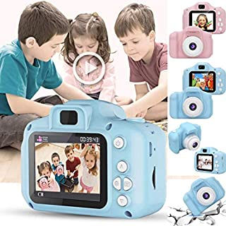 Dongdongole Children Mini Digital Camera 2 Inch Screen Video Recorder Digital Cameras Kids Educational Toys
