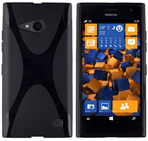 mumbi Schutzhülle für Nokia Lumia 730/735 Hülle vIp5PnkFAK