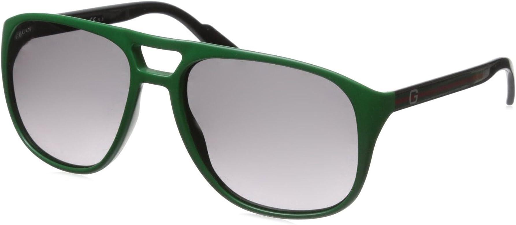 Gucci Gafas de Sol GG 1018/S EU KR5 Verde: Amazon.es: Ropa y ...