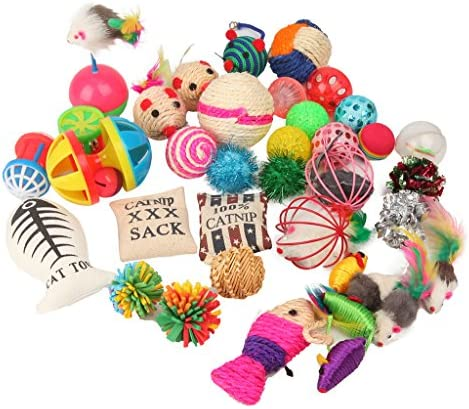 Fashion's Talk Cat Toys Variety Pack for Kitty 20 Pieces 2