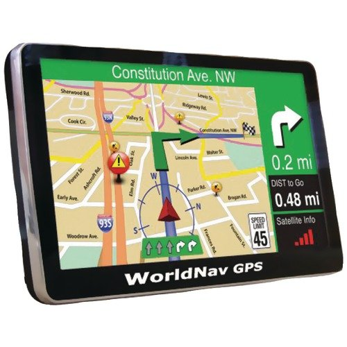 TeleType 740060 WorldNav7400 High Resolution Truck GPS by TeleType