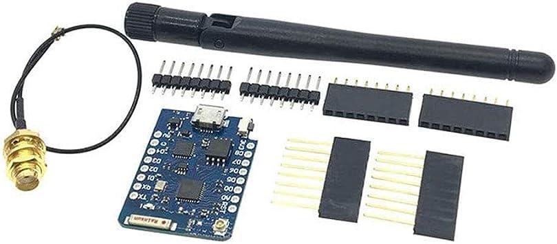 D1 Mini Pro 16M Bytes Conector de antena externa NodeMCU ...