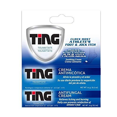 Ting Antifungal Cream 0.50 oz (Pack of - Antifungal Ting