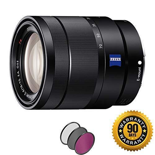 Sony Vario-Tessar T E 16-70mm f/4 ZA OSS Lens with UV Filter (Renewed) by Sony