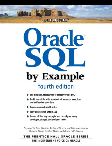 Oracle SQL By Example (Prentice Hall Professional Oracle Series) (Alice Programming Book)