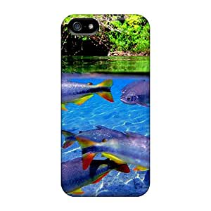 Awesome Design Underwater Residents Hard Case Cover For Iphone 5/5s